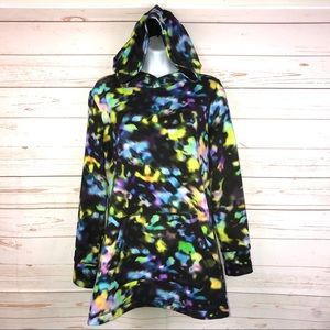 Isaac Mizrahi LIVE Multicolor Hoodie Sweatshirt XS